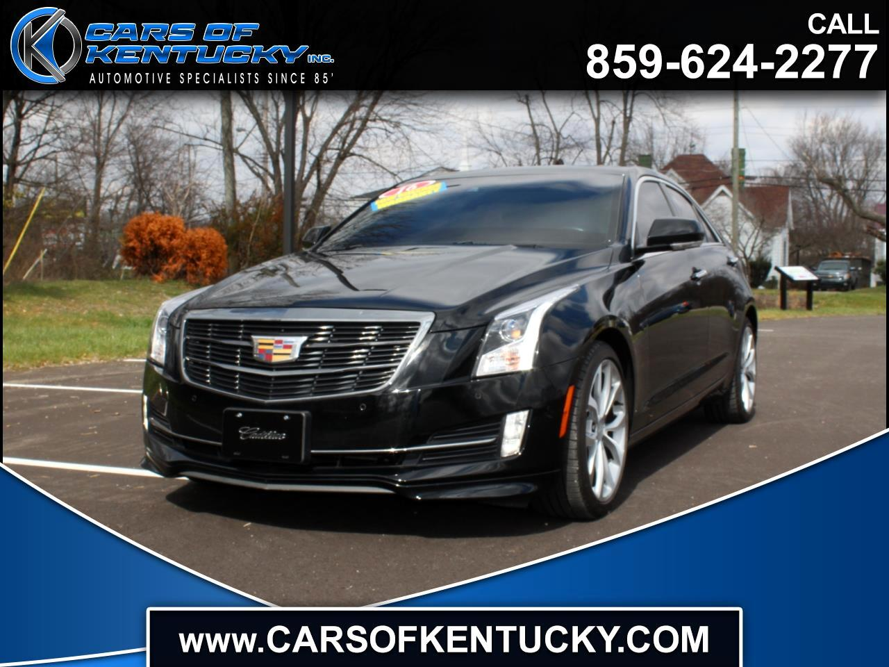 Cadillac ATS 2.0L Performance AWD 2016