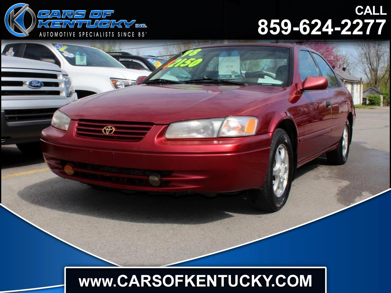 Toyota Camry XLE 1998