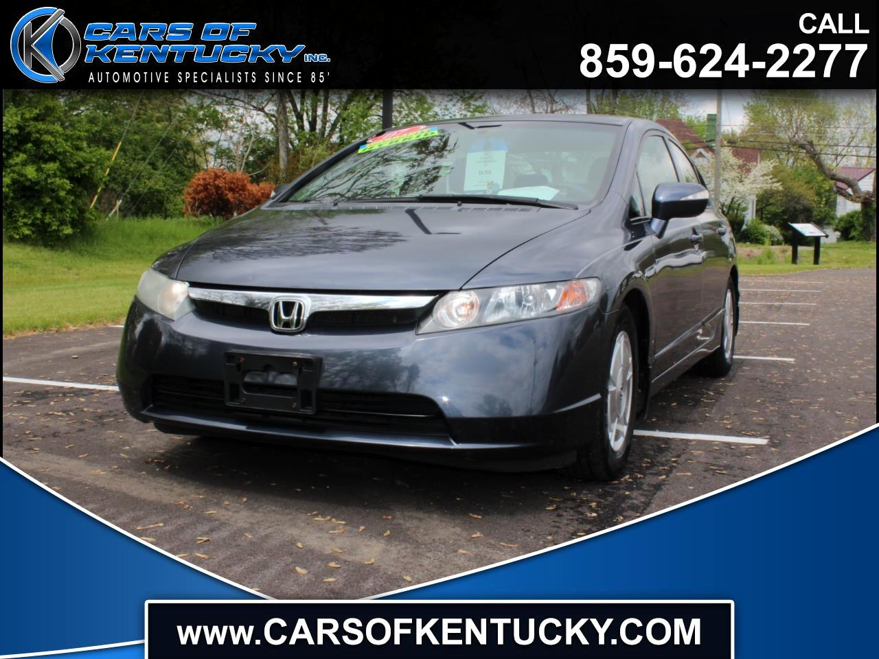 Honda Civic Hybrid CVT AT-PZEV 2007