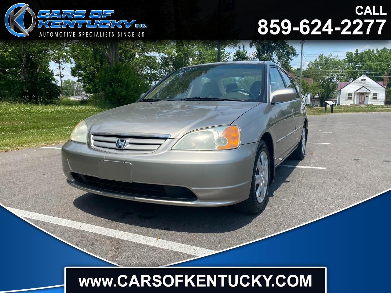 Honda Civic 4dr Sdn EX Auto 2003