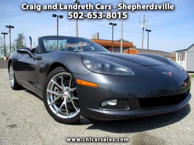 2013 Chevrolet Corvette Standard Convertible 1LT
