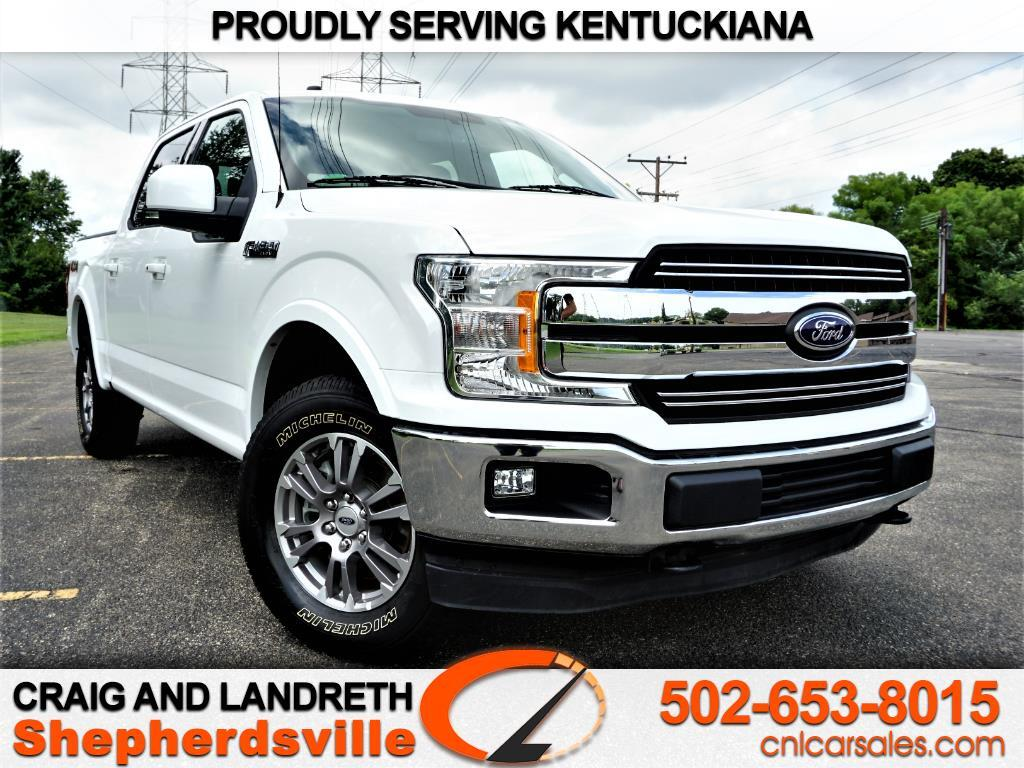 "2018 Ford F-150 4WD SuperCrew 139"" Lariat"