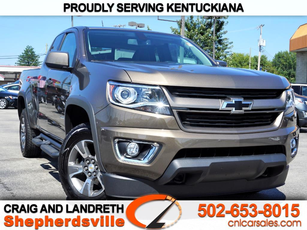 "2016 Chevrolet Colorado 4WD Ext Cab 128.3"" Z71"