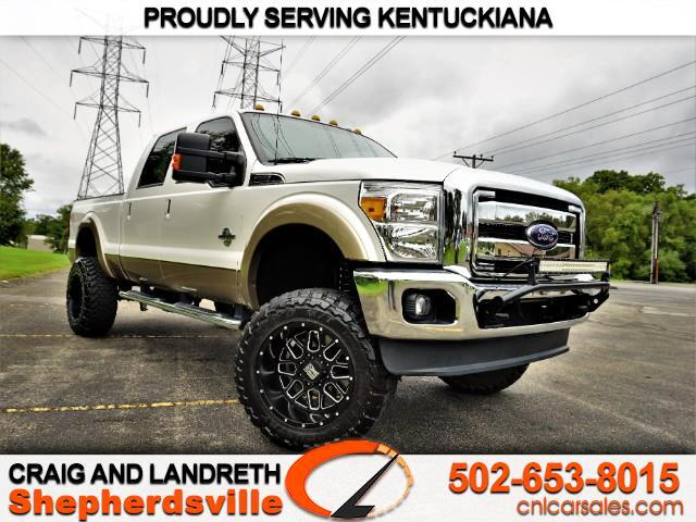 2014 Ford Super Duty F-250 SRW Lariat 4WD Crew Cab 6.75' Box