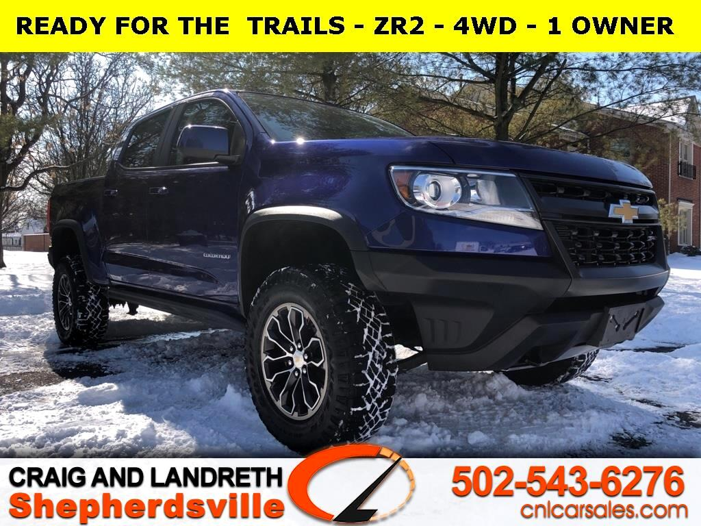 Chevrolet Colorado ZR2 Crew Cab 4WD Short Box 2017