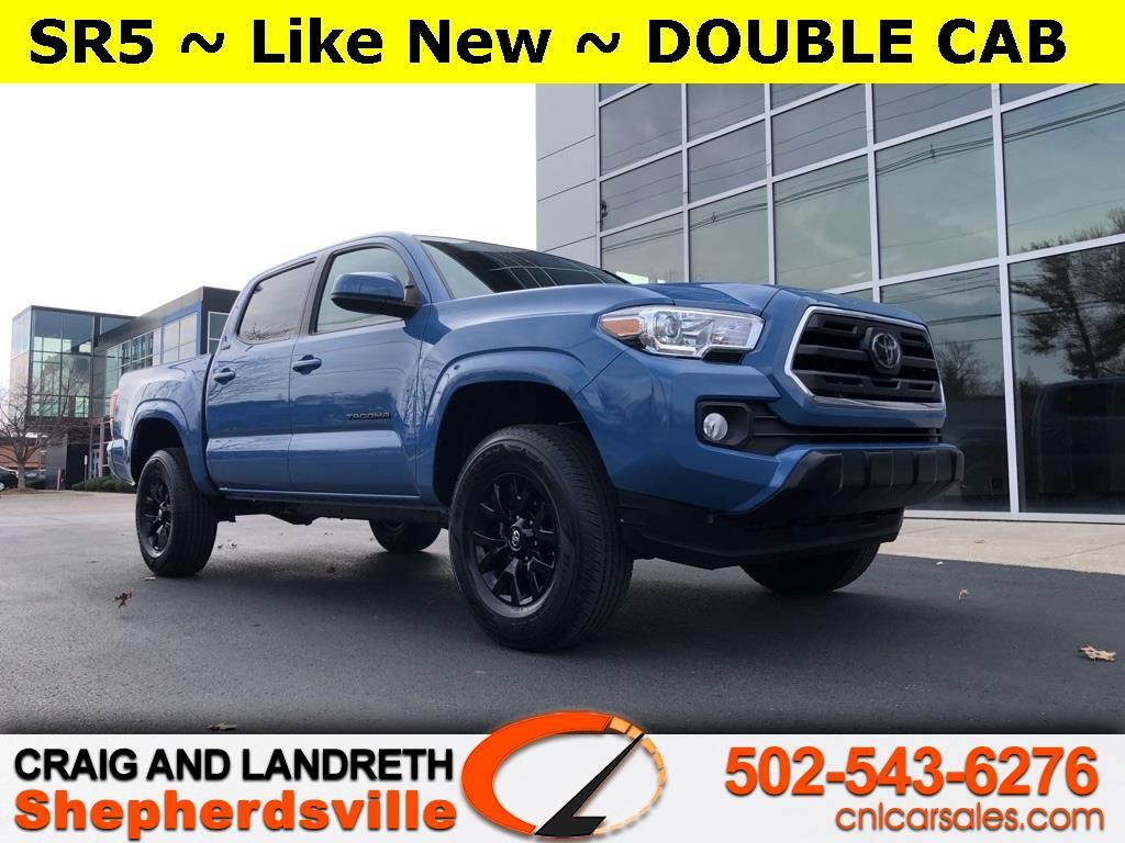 Toyota Tacoma SR5 Double Cab Long Bed I4 6AT 2WD 2019