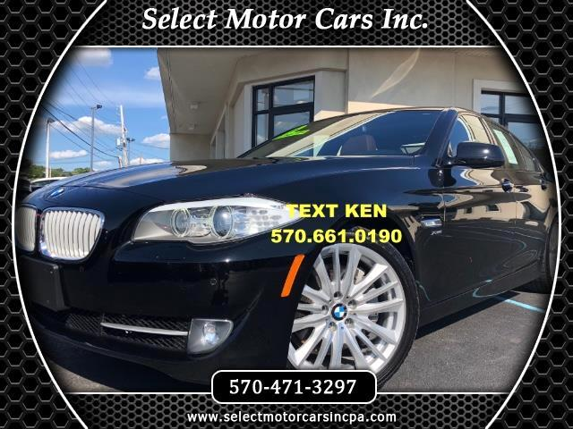 2012 BMW 5-Series 550i xDrive Sport Sedan