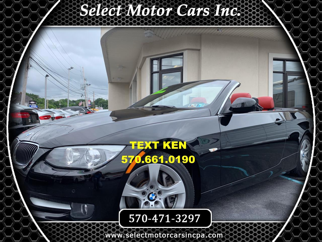 2013 BMW 3-Series 335i Convertible
