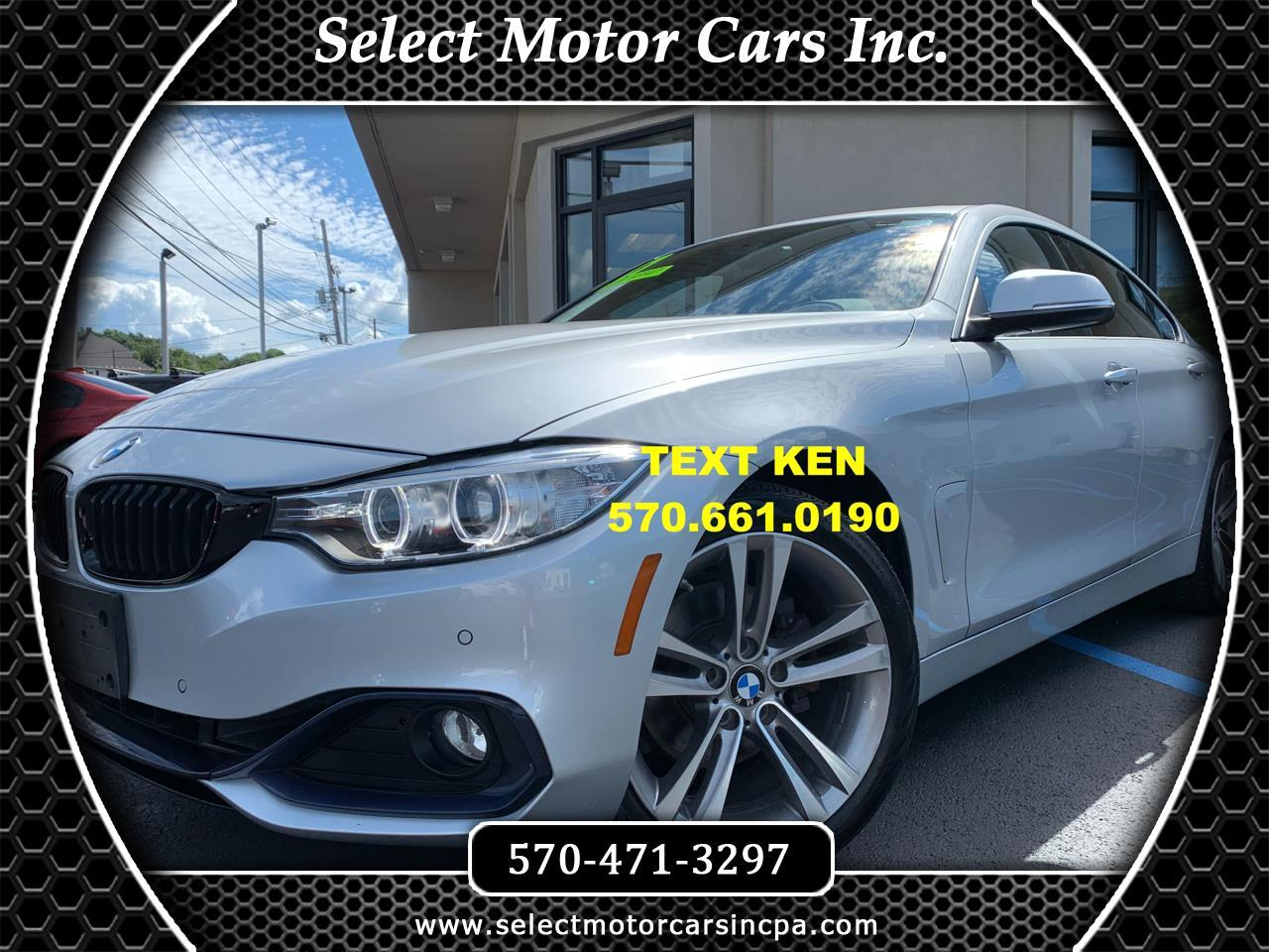 BMW 4-Series Gran Coupe  2017