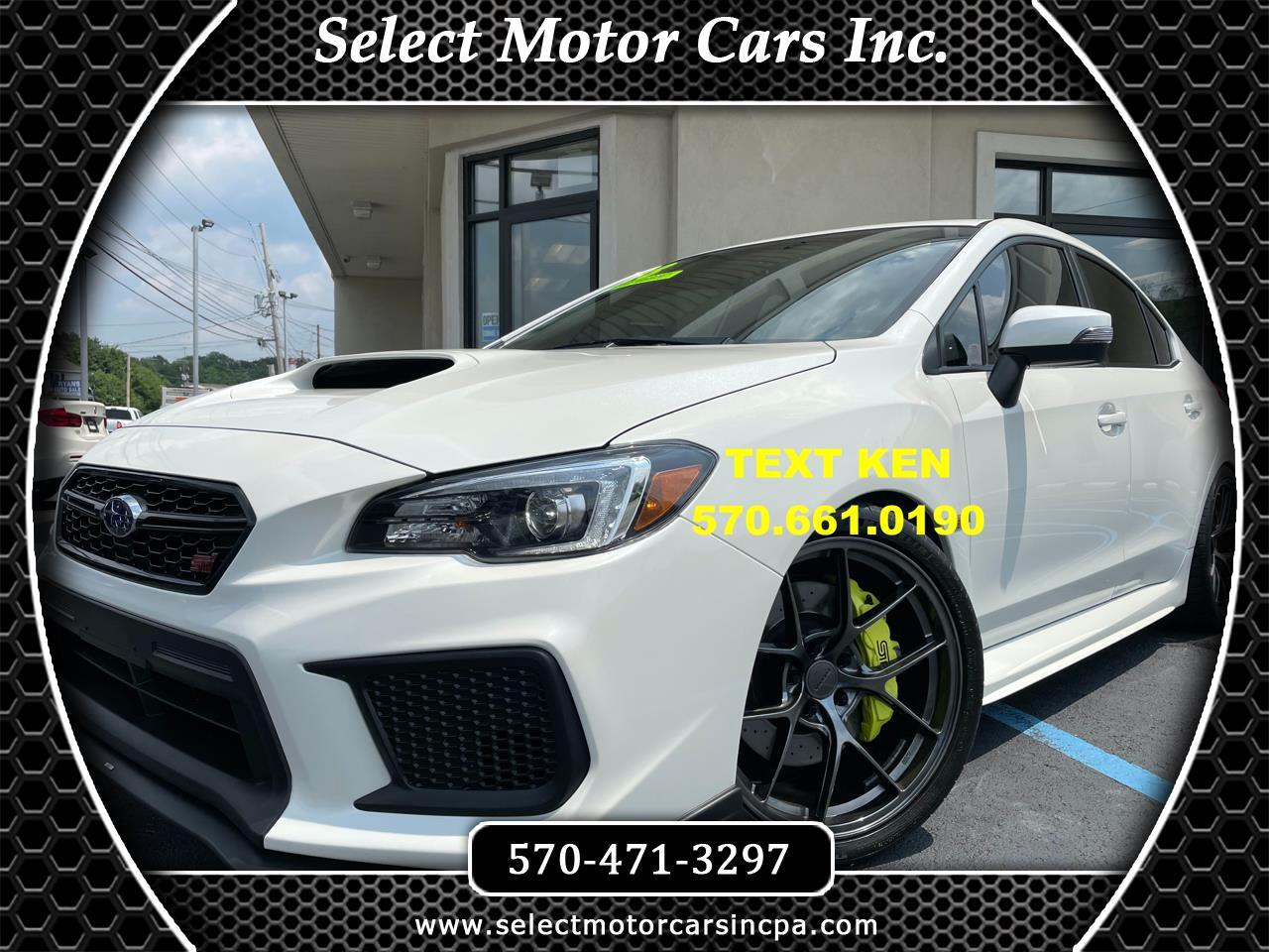 Subaru WRX STI Limited 2018