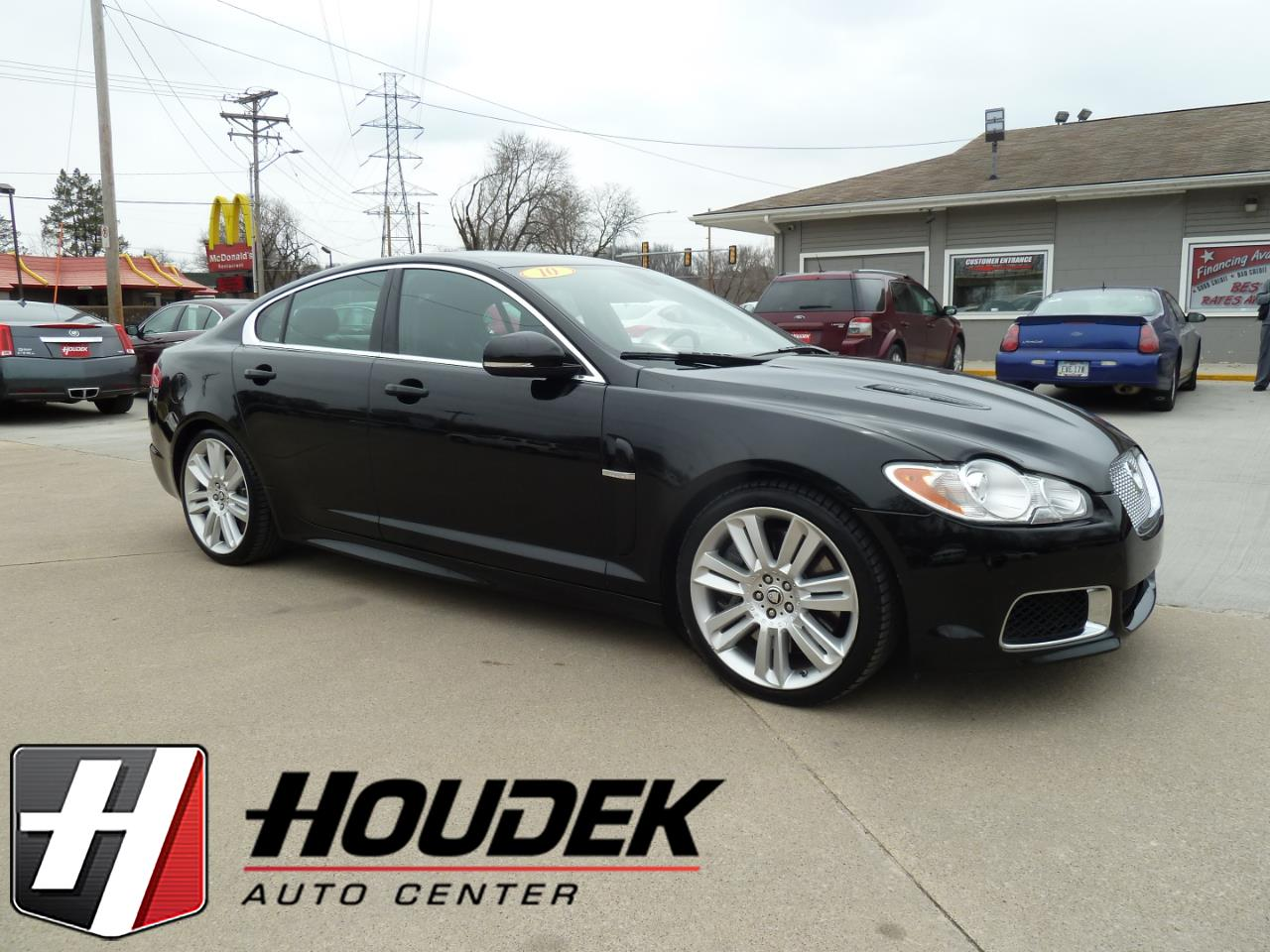 2010 Jaguar XF-Series R