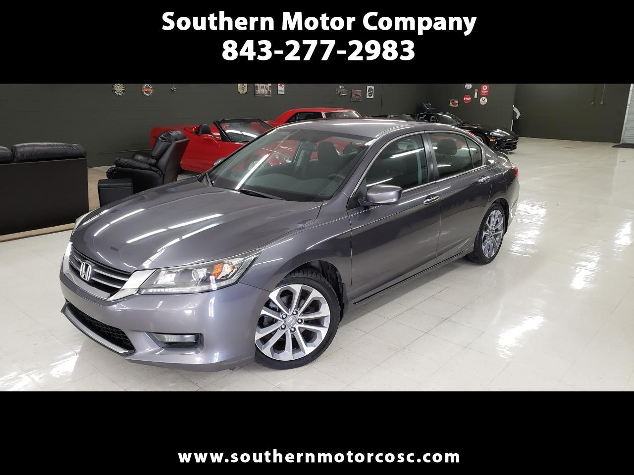 2014 Honda Accord Sport Sedan 6-Spd MT