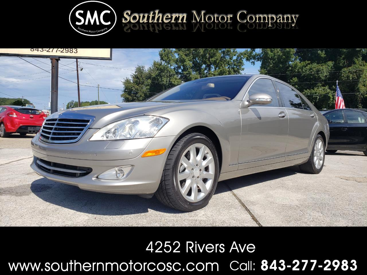 2008 Mercedes-Benz S-Class 4dr Sdn S 550 RWD
