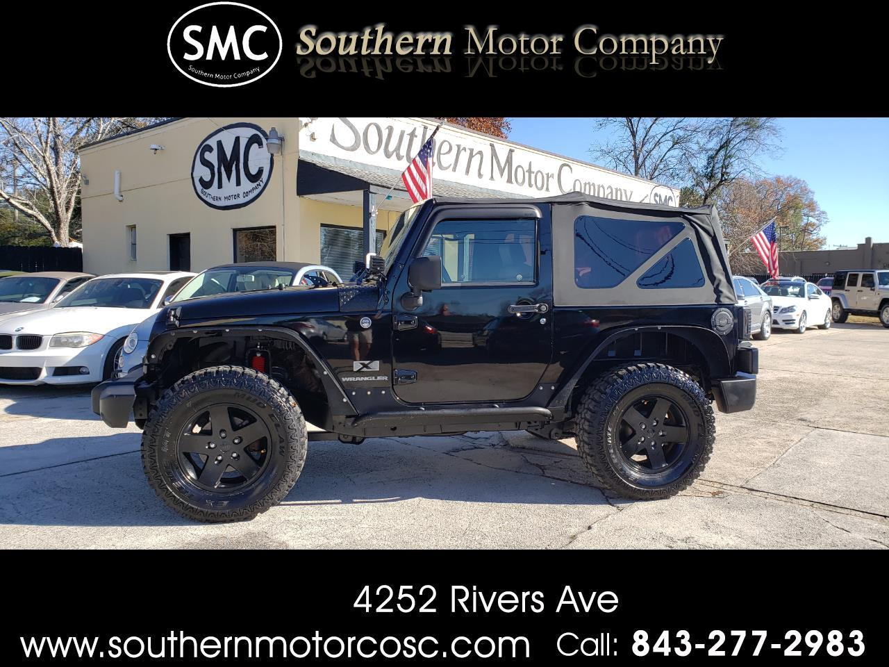 Jeep Dealership Charleston Sc >> Used 2009 Jeep Wrangler X For Sale In North Charleston Sc