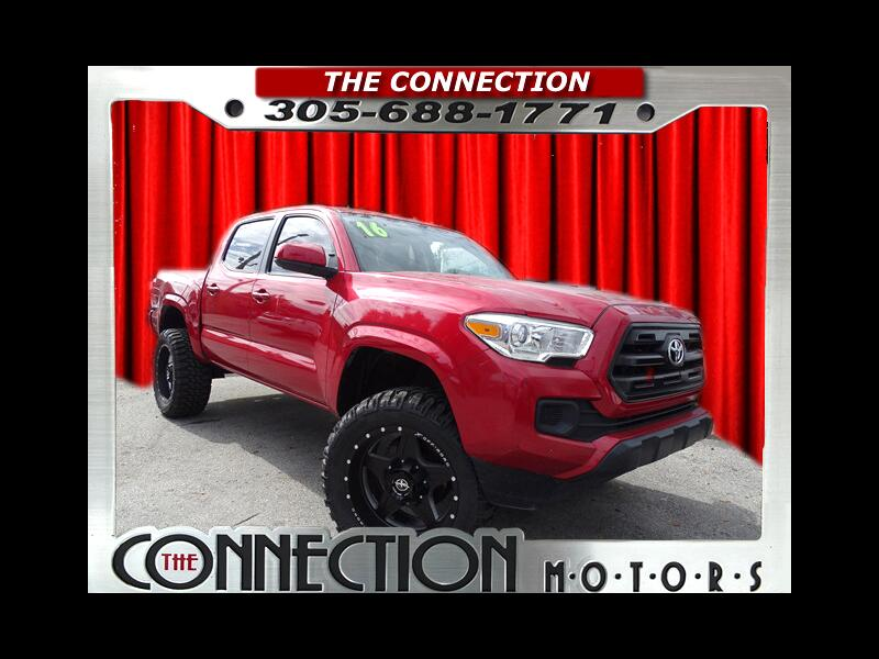2016 Toyota Tacoma SR5 Double Cab Long Bed I4 5AT 2WD