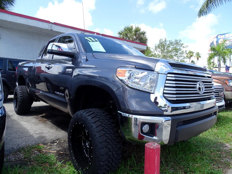 2017 Toyota Tundra Limited 5.7L FFV Double Cab 2WD