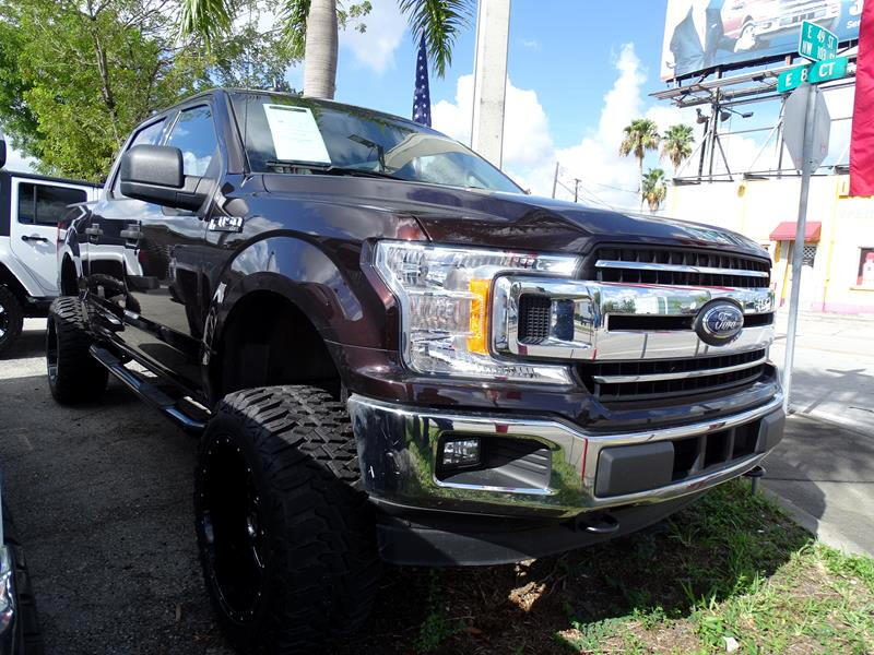 """2018 Ford F-150 4WD SuperCab 133"""" Lariat"""