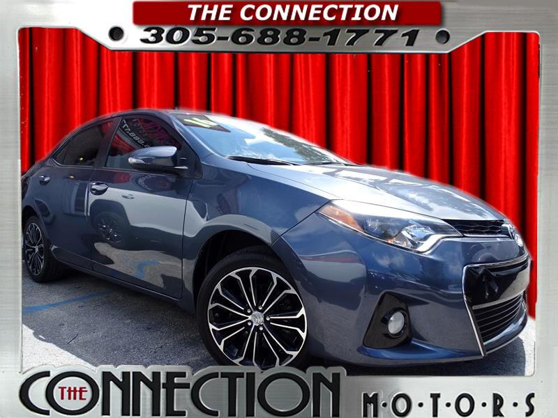 2016 Toyota Corolla S Plus CVT