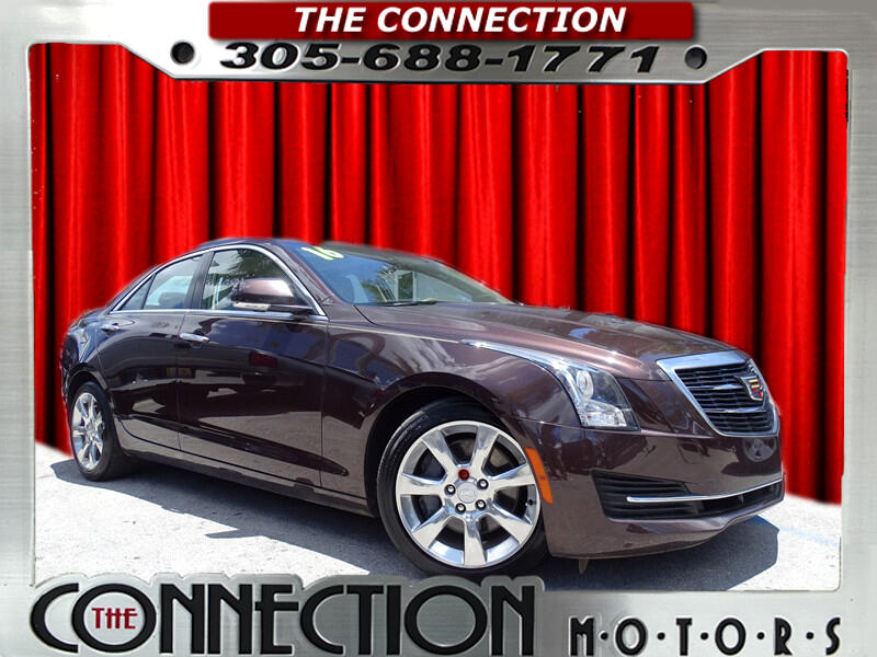 2016 Cadillac ATS Sedan 4dr Sdn 2.0L Luxury RWD