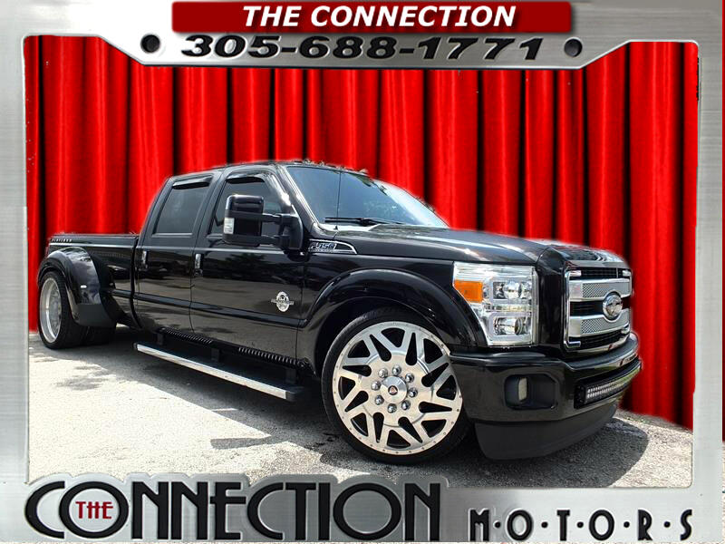2013 Ford F-350 SD Platinum Crew Cab Long Box 2WD