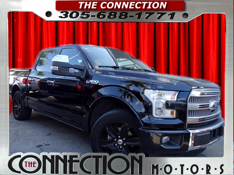 Ford F-150 Platinum SuperCrew 5.5-ft. Bed 2WD 2017