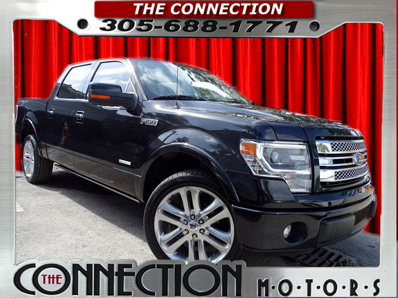 "Ford F-150 2WD SuperCrew 139"" Limited 2014"