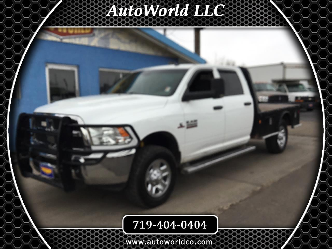 2014 Dodge Ram Pickup 3500 Quad Cab 4WD