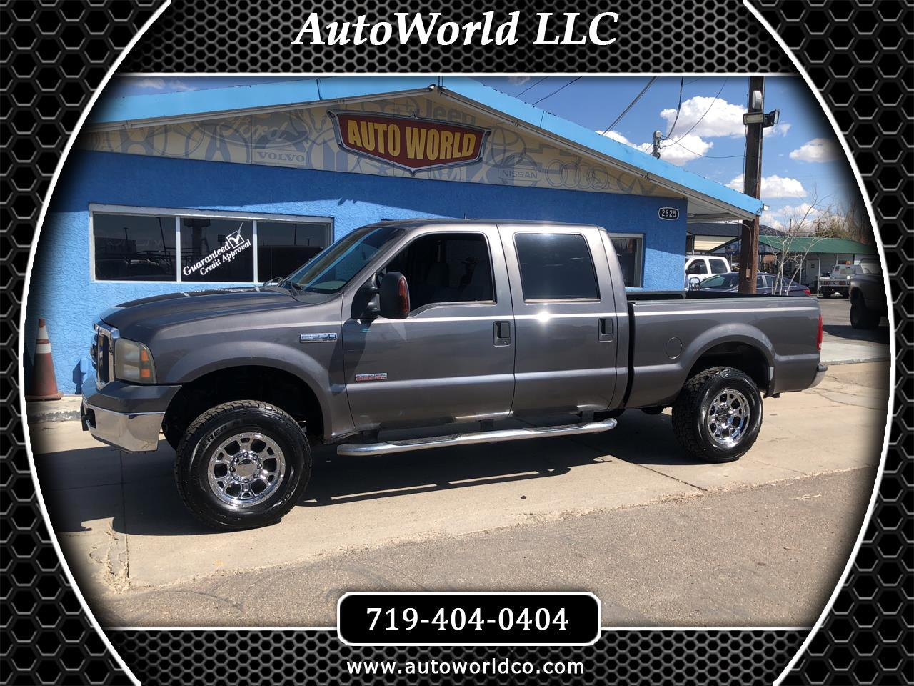 2006 Ford Super Duty F-250 4WD SuperCab 158