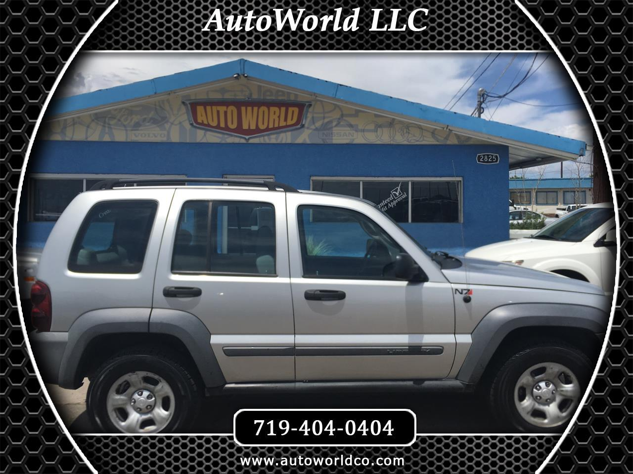 2005 Jeep Liberty 4dr Sport