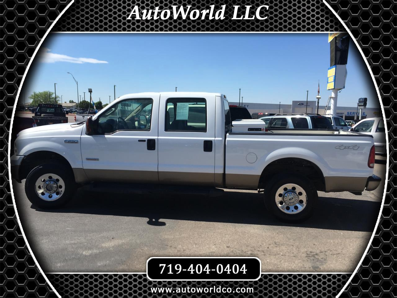 2007 Ford Super Duty F-250 4WD Crew Cab 156