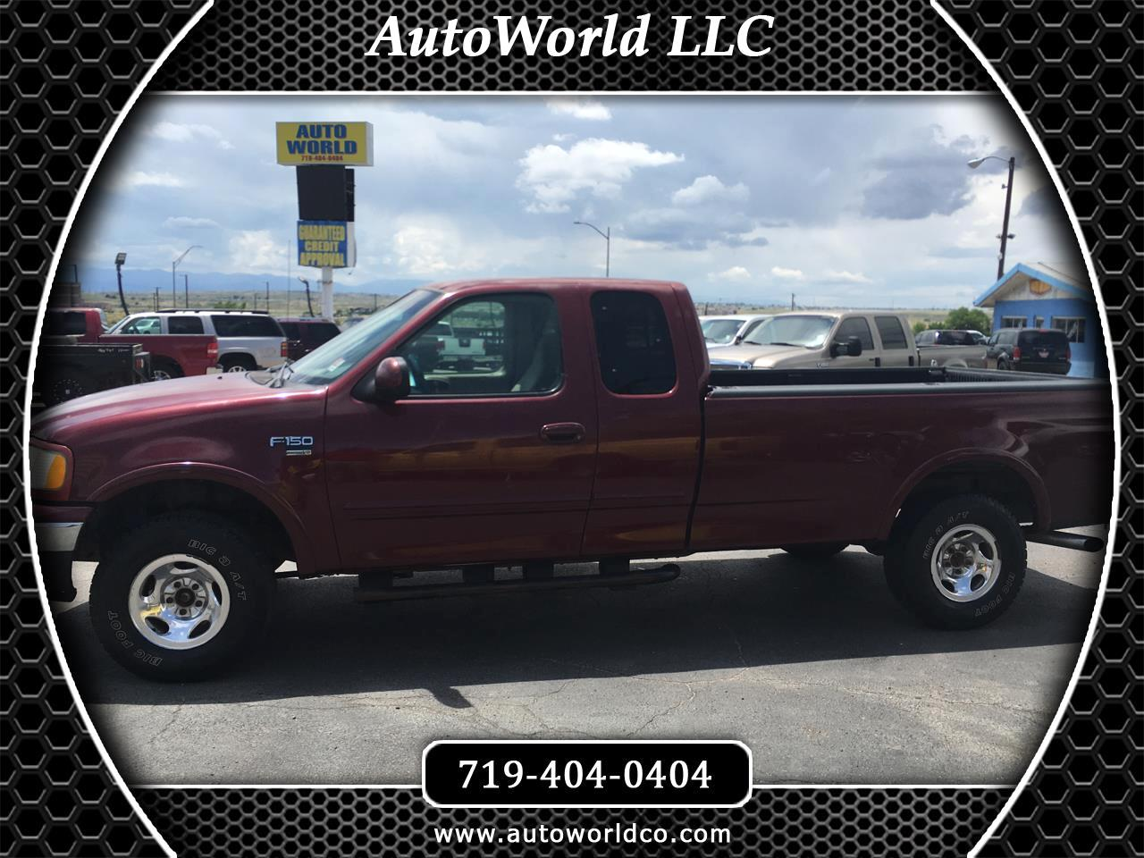 """1999 Ford F-150 Supercab 139"""" 4WD Lariat"""