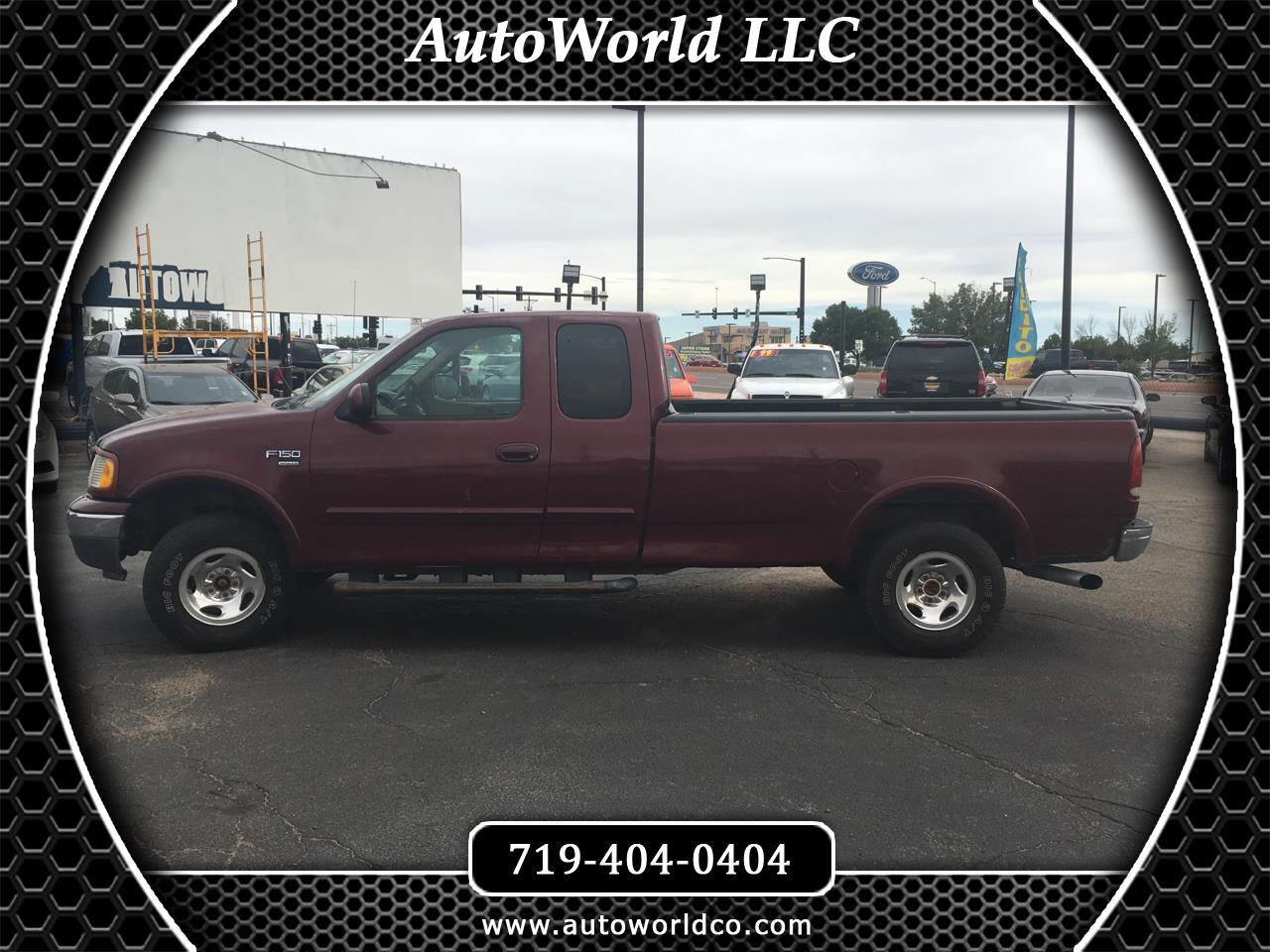 "1999 Ford F-150 Supercab 139"" 4WD Lariat"