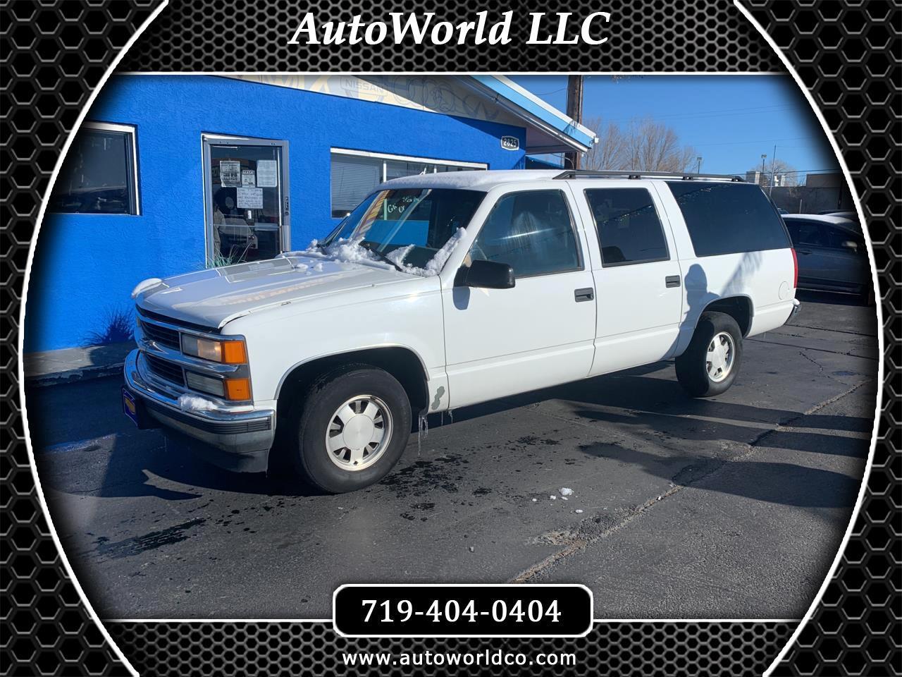 Chevrolet Suburban 1500 1999