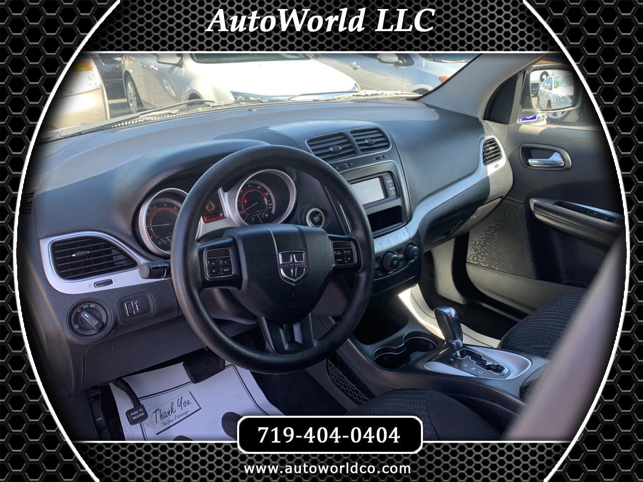 Dodge Journey AWD 4dr SXT 2014