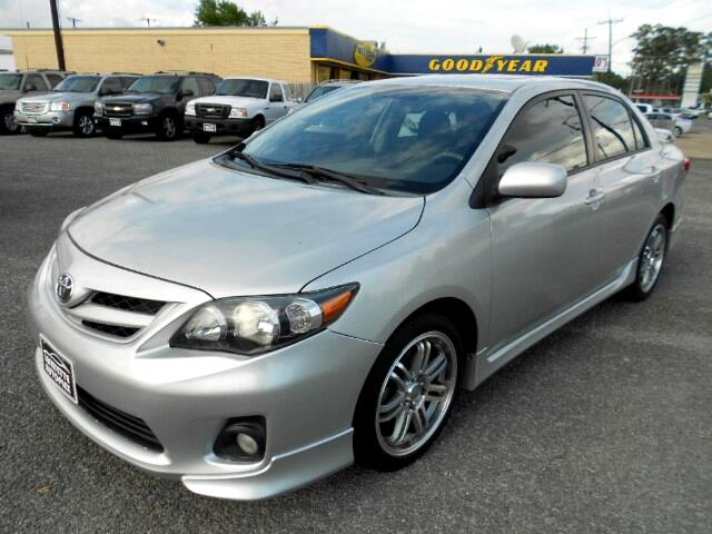 2012 Toyota Corolla S 4-Speed AT