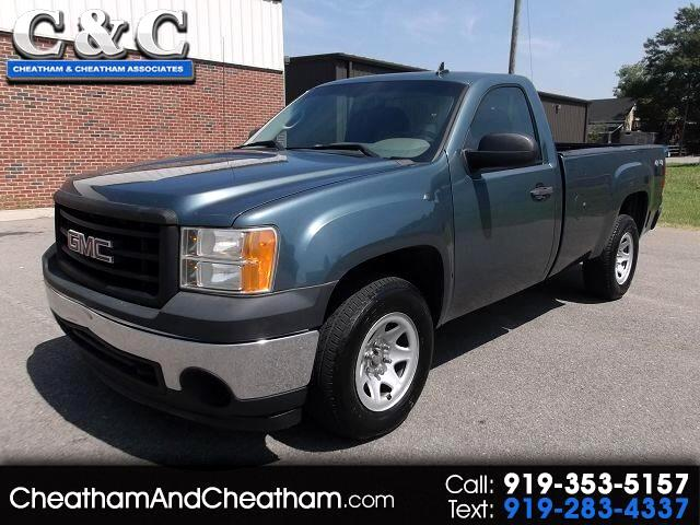 2007 GMC Sierra 1500 Work Truck Long Box 4WD