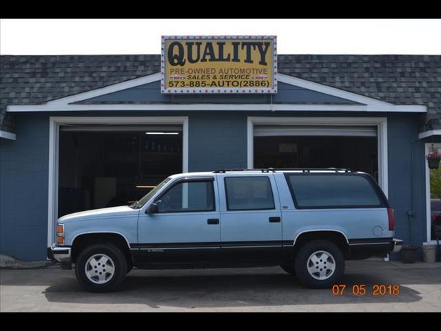 1992 Chevrolet Suburban K1500 4WD