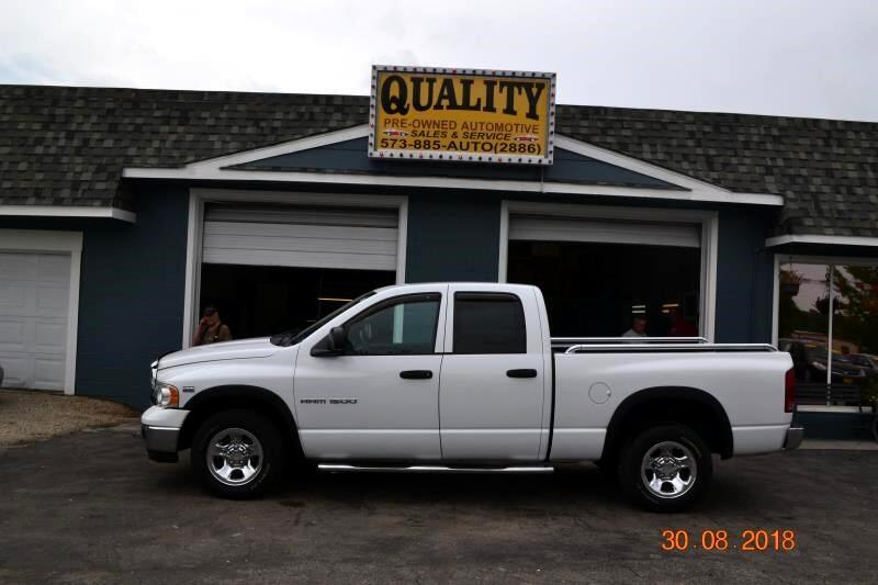 "2005 Dodge Ram 1500 4dr Quad Cab 140.5"" WB SLT"