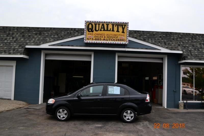 2010 Chevrolet Aveo 4dr Sdn LT w/1LT