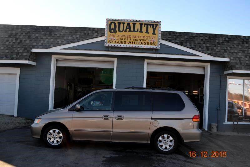 2003 Honda Odyssey 5dr EX-L w/DVD/Leather