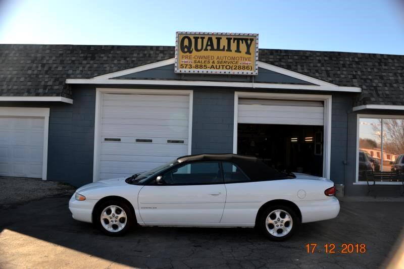 2000 Chrysler Sebring 2dr Convertible JXi