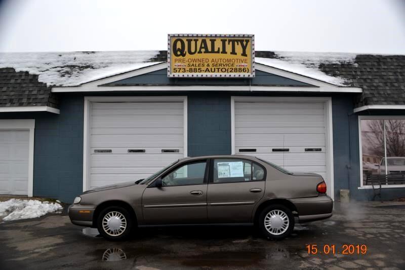2002 Chevrolet Malibu 4dr Sdn