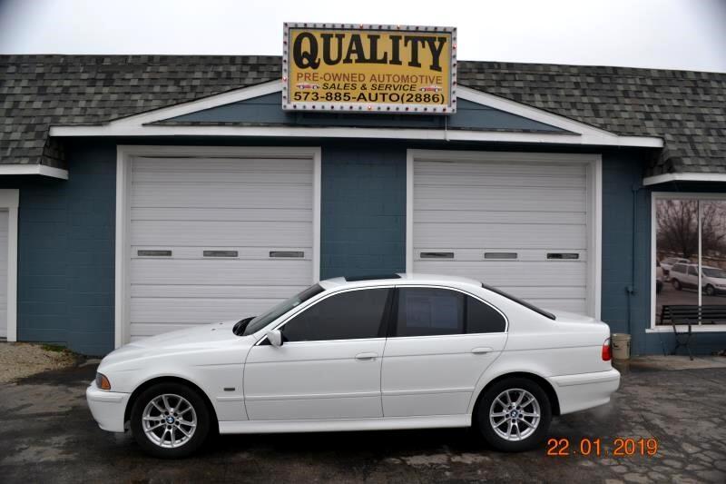2003 BMW 5 Series 525iA 4dr Sdn 5-Spd Auto