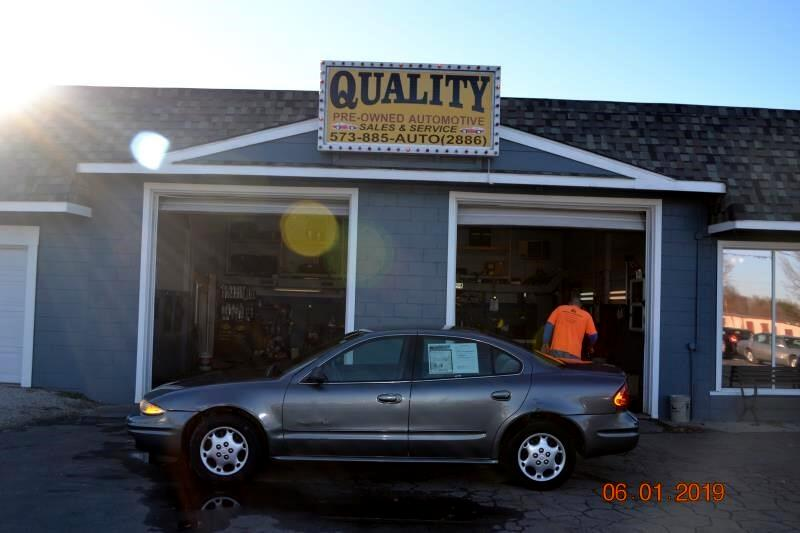 2003 Oldsmobile Alero 4dr Sdn GL1