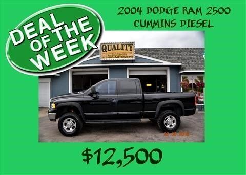 2004 Dodge Ram 2500 4dr Quad Cab 140.5
