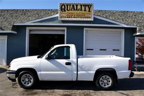 "Chevrolet Silverado 1500 Classic 2WD Reg Cab 119.0"" Work Truck 2007"
