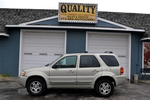 "Ford Escape 4dr 103"" WB Limited 4WD 2004"
