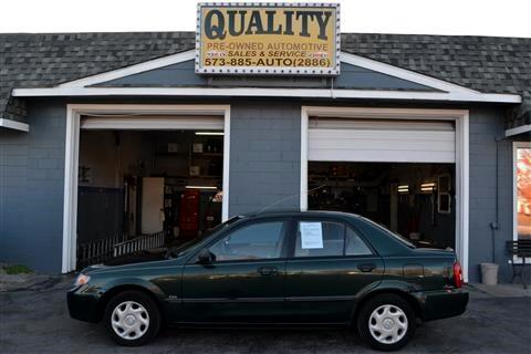 Mazda Protege 4dr Sdn LX Auto 2001