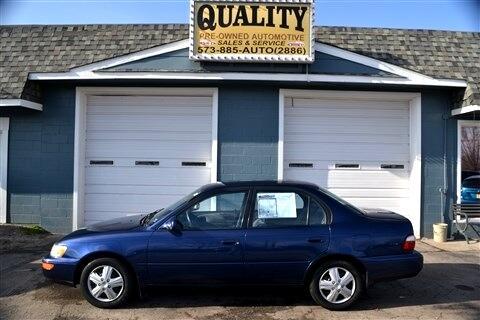 Toyota Corolla 4dr Sdn DX Auto 1997