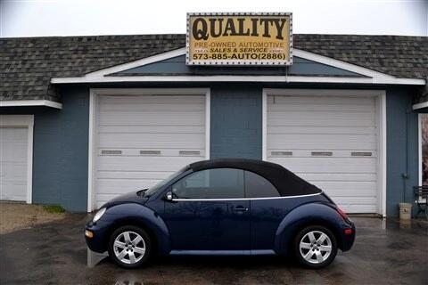 Volkswagen New Beetle Convertible 2dr Convertible GLS Auto 2003